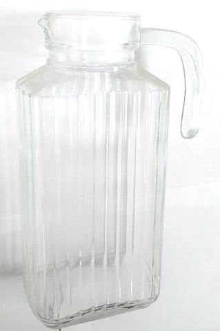 SQUARE TALL GLASS KETTLE $3.99 - Home Idol Home Improvement Outlet