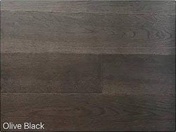 "SPX ORDER 1-2DAYS ENGINEERED HARDWOOD OAK OLIVE BLACK 6"" 23.7SF/BOX $4.79/SF $113.52/BOX - Home Idol Vancouver"
