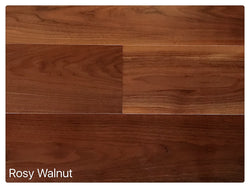 "SPX ORDER 1-2DAYS ENGINEERED HARDWOOD ROSY WALNUT 30.27SF/BX 9/16X7.5"" $6.54/SF $197.97/BOX - Home Idol Vancouver"