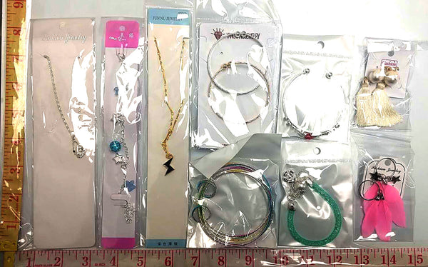SMALL JEWELRY ACCESSORIES ANY STYLE $1.25