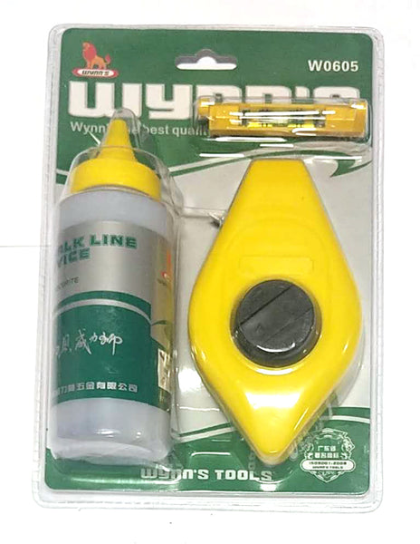 W0605 GREEN+YELLOW WYDD'S CHALK LINE DEVICE $4.75/SET - Home Idol Vancouver