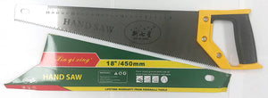 "HAND SAW WITH PLASTIC HANDLE XIN QI XING 18"" $3.99 *** - Home Idol Home Improvement Outlet"