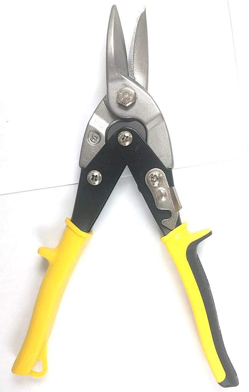 "HEAVY DUTY AVIATION SNIPS SCISSORS BLACK AND YELLOW 10"" $7.5 - Home Idol Home Improvement Outlet"