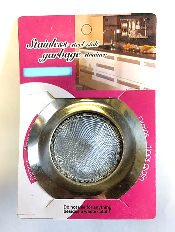 "SMALL BATHROOM/KITCHEN STRAINER (HAIR CATCHER/FLOOR DRAINS) STAINLESS STEEL 7CM = 3.5""$1.25 - Home Idol Home Improvement Outlet"