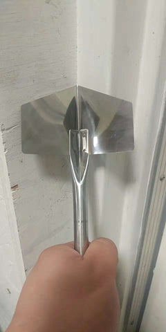 90 DEGREE INNER CORNER WALL ANGLE TROWEL (CORNER STRIAGHTENER) STAINLESS STEEL $1.25 - Home Idol Vancouver