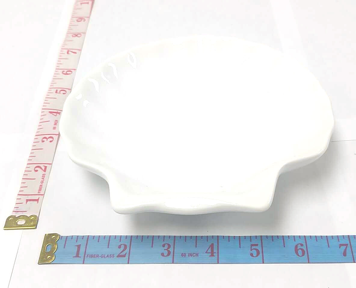 ANY SIZE CERAMIC PLATE WHITE  $1.35 ##
