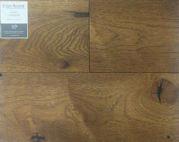 "SPX ORDER 1-2DAYS ENGINEERED HARDWOOD HICKORY FAIRMONT 31.1SF/BOX 7.5""X73"" $5.02/SF $156.1/BOX - Home Idol Vancouver"