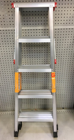 5 STEPS LADDER LIGHT WEIGHT DUTY $39.99 ** - Home Idol Home Improvement Outlet