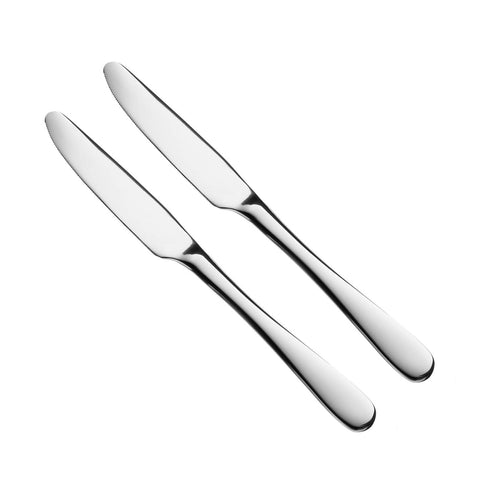 TABLE KNIFE STAINLESS STEEL 2 FOR $1.25 $1.25/2PC ($0.62=1PC) - Home Idol Home Improvement Outlet