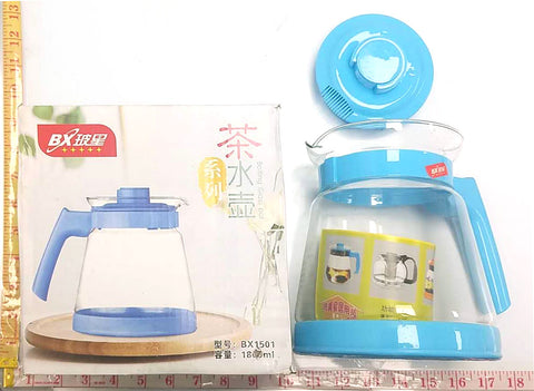 BX1501 BOX GLASS POT (TEA & COFFEE) 1800ML $3.99 - Home Idol Home Improvement Outlet