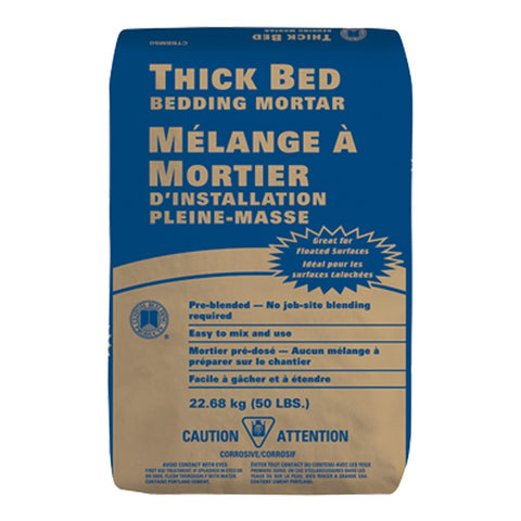 THICK BED - BEDDING MORTAR $6.5/BAG - Home Idol Vancouver