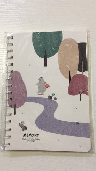 A5-80 TWO LINE NOTEBOOK $1.25 *