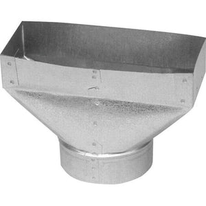 "095310 UNIVERSAL BOOT 5""-3X10 GALVANIZED $6.99 - Home Idol Home Improvement Outlet"