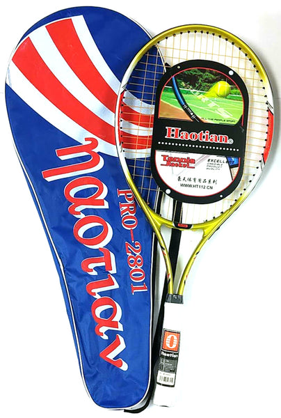 PRO-2801 TENNIS RACKET WITH BAG HAOTIAN $18 - Home Idol Vancouver