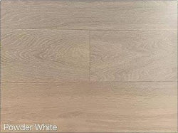 "SPX ORDER 1-2DAYS ENGINEERED HARDWOOD OAK POWDER WHITE 30.27SF/BOX 7.5""X74"" $4.9/SF $148.39/BOX - Home Idol Vancouver"