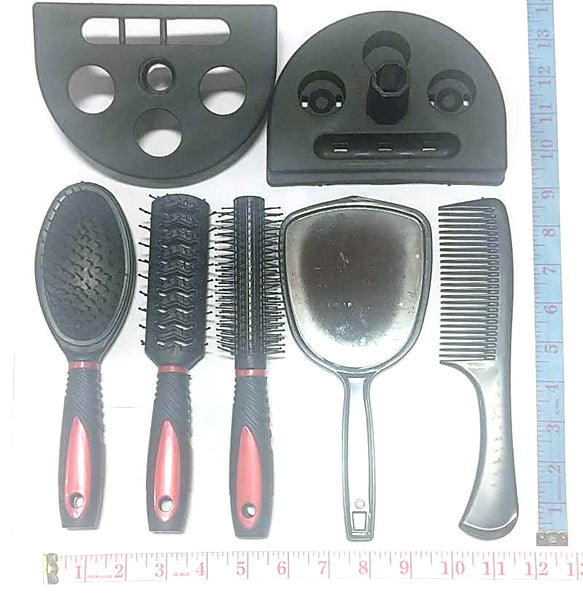 HAIR CARE COMB COMBO (4 COMBS+1 HAND MIRROR) $4.99 - Home Idol Vancouver