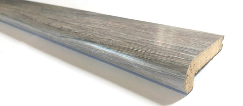 "LAMINATE E-03 NETURAL GRAY STAIR NOSE 95""X3""X1"" $8/PC - Home Idol Vancouver"