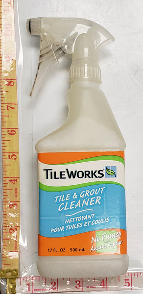 GL-03-92500 TILEWORKS TILE & GROUT CLEANER NO FUMES 500ML $2.75/PC ##