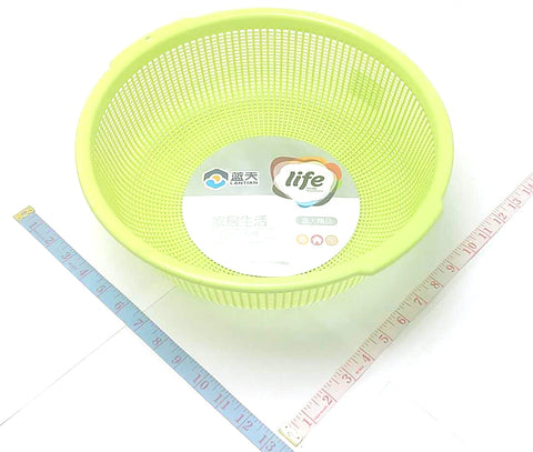 "A4205 PP BIG ROUND BASKET LAN TIAN LIFE 4.5""X13""X13"" $1.25 - Home Idol Home Improvement Outlet"