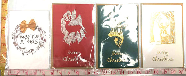 MERRY CHRISTMAS HOLIDAY POSTCARD (ANY DESIGN) $1.25/2PC=$0.62/PC