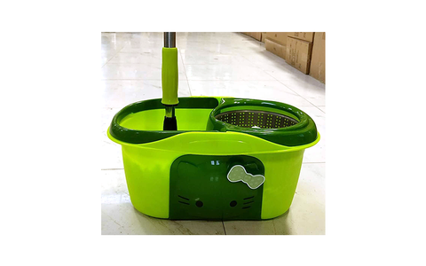 CLEANING MOP COMBO GREEN/PINK $19.99 - Home Idol Vancouver