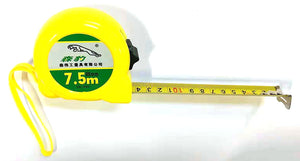 SB-099 EXTENDABLE MEASURING TAPE WITH LOCKING (MAX 295 INCHES=7.5M) YELLOW $2.75 - Home Idol Home Improvement Outlet