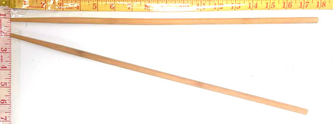 "EXTRA LONG BAMBOO CHOPSTICKS 18"" $1.25 - Home Idol Home Improvement Outlet"