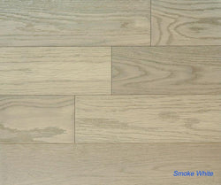 "SPX ORDER 1-2DAYS ENGINEERED HARDWOOD OAK SMOKE WHITE 5"" 26.25SF/BOX $3.79/SF $99.49/BOX - Home Idol Vancouver"