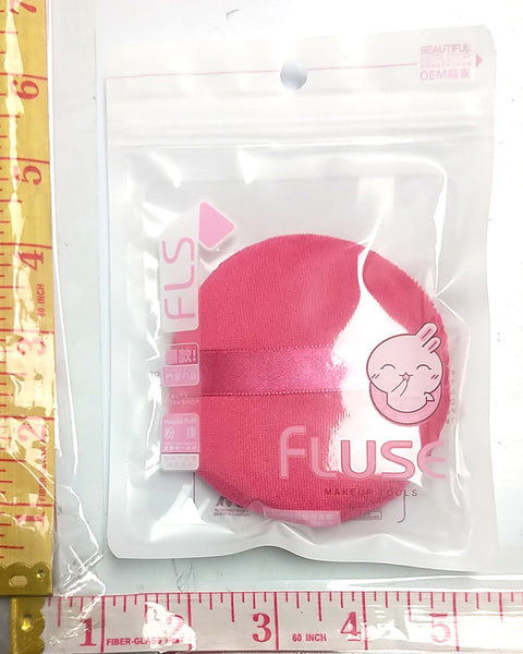 FLS POWDER PUFF PAD (POWDER SPONGE) FLUSE MAKEUP TOOLS 1PC/PACK $1.25