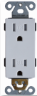 PLUG RECEPTACLE 15AMP TR $1.84 * - Home Idol Home Improvement Outlet