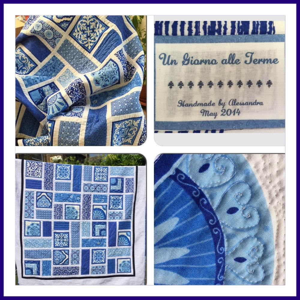 Un Giorno alle Terme Quilt - Alessandra Handmade Creations