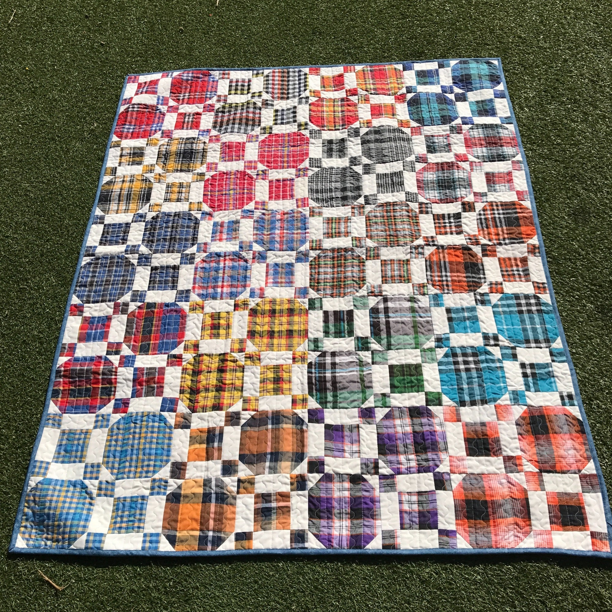Relaxed Weekend Quilt - Alessandra Handmade Creations