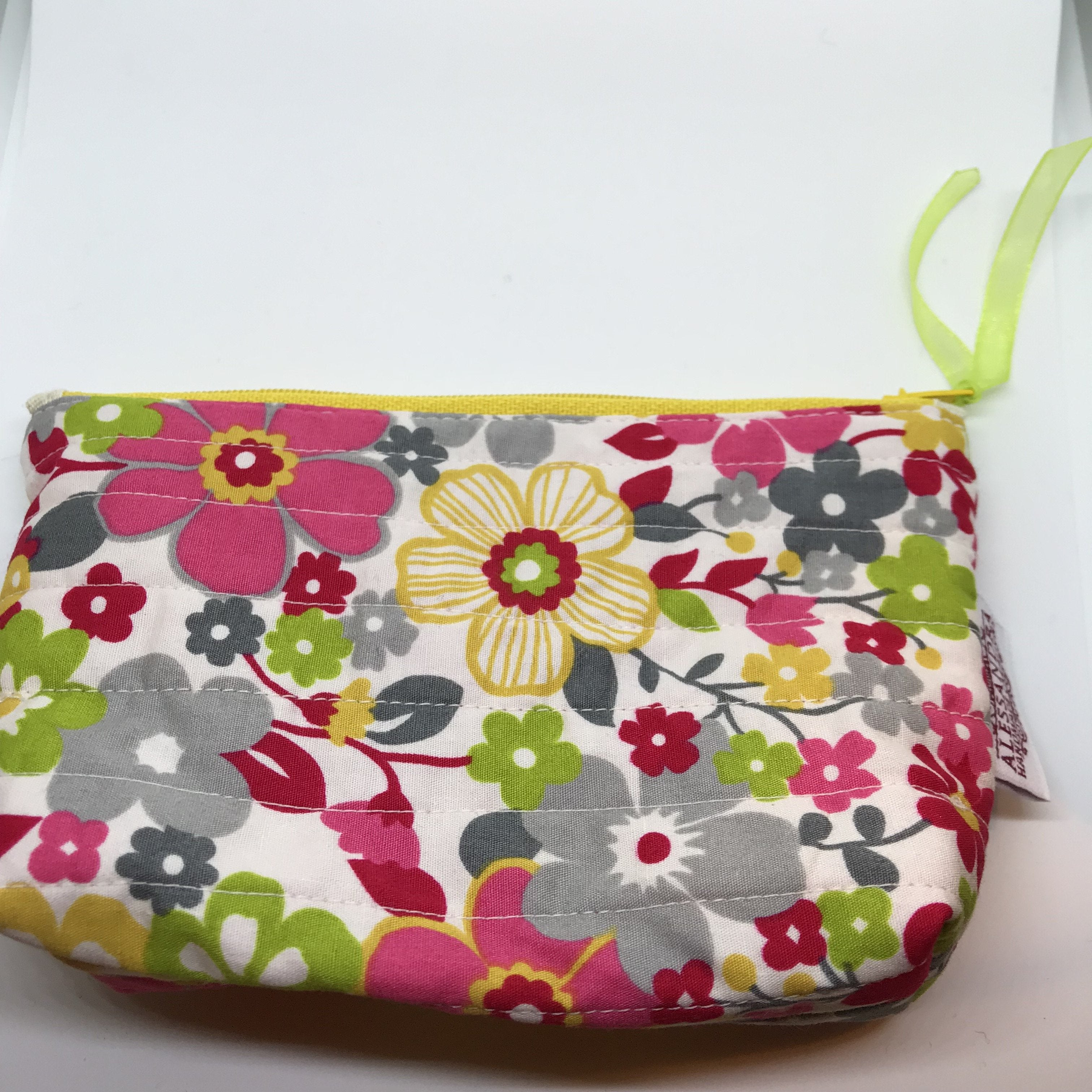 Full Bloom - Floral Pouches - Alessandra Handmade Creations