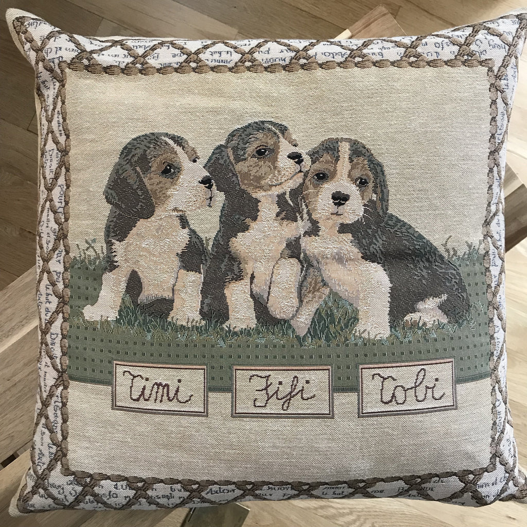 A Trio of Puppies - Alessandra Handmade Creations
