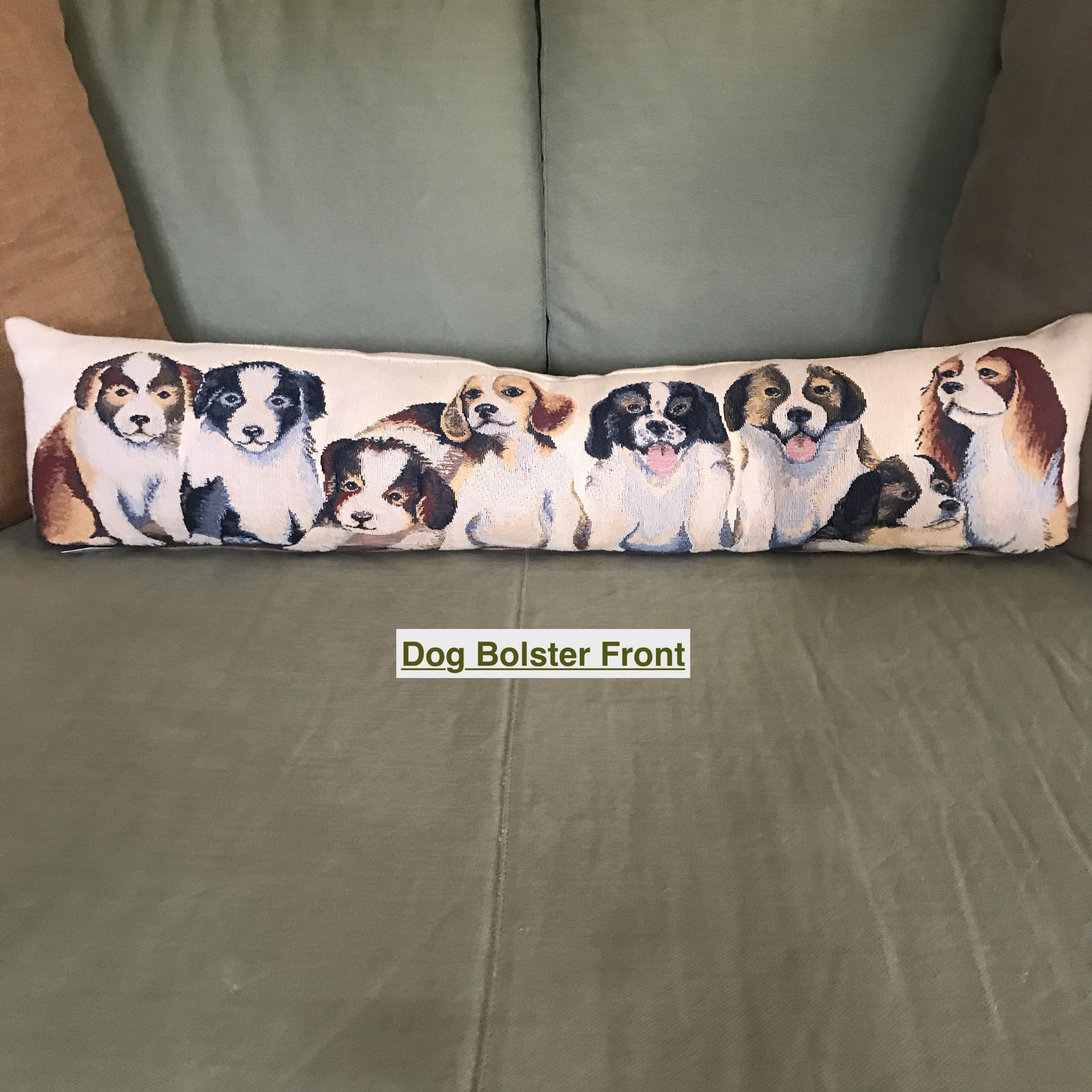 All my Puppies - Bolster