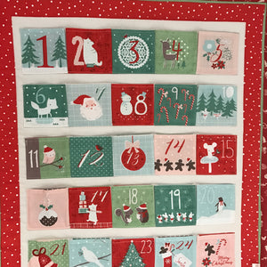 """Let it Snow!"" Advent Calendar - Alessandra Handmade Creations"