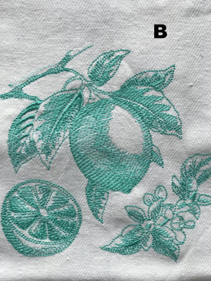 Botanical Fruits - Tea Towel Collection - Alessandra Handmade Creations