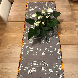 Black&White Quilted Table Runner