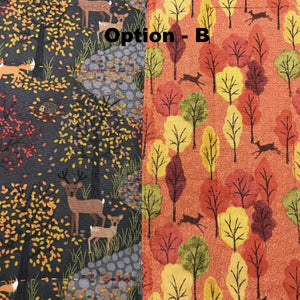 A Beautiful Autumn Day - Placemat Collection - Alessandra Handmade Creations