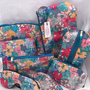 Liberty Lavender Bags Mauvey - Alessandra Handmade Creations