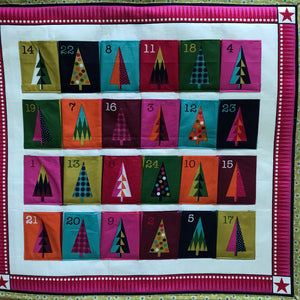 """Colourful Christmas"" Advent Calendar - Alessandra Handmade Creations"