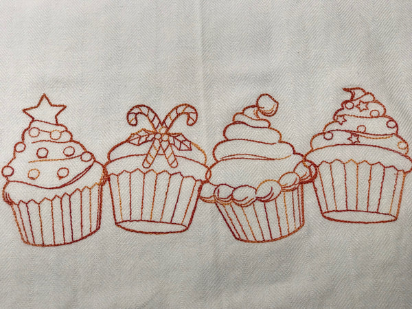 Ginger Christmas - Tea Towel Collection - Alessandra Handmade Creations