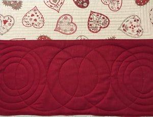 With All My Heart - Placemats - Alessandra Handmade Creations