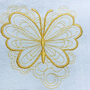 Yellow Butterflies Tea Towels Collection 🦋🦋🦋 - Alessandra Handmade Creations