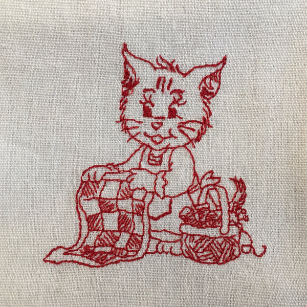 Busy Kittens Tea-Towels - Alessandra Handmade Creations