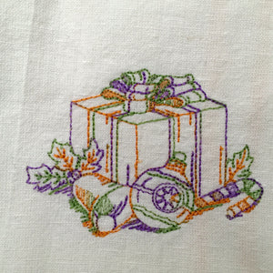 Christmas Tea-Towels - Alessandra Handmade Creations