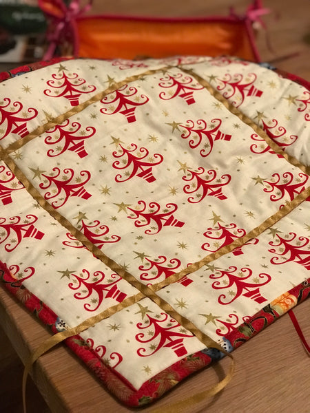 Folding Quilted Baskets