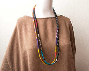 Long Double Strand Necklace - Alessandra Handmade Creations