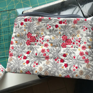 Cheerful Floral Pouches - Alessandra Handmade Creations