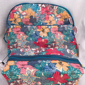 Liberty Wash Bag Mauvey - Alessandra Handmade Creations